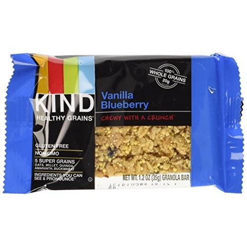 Kind Healthy Grains Granola Bars Vanilla Blueberry, 175 g -- 3 B...