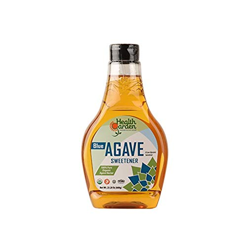 Health Garden Blue Agave Nectar Sweetener - Organic - Non GMO - ...