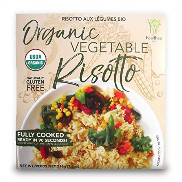 Healthee Organic Risotto Vegetable, Pack of 4