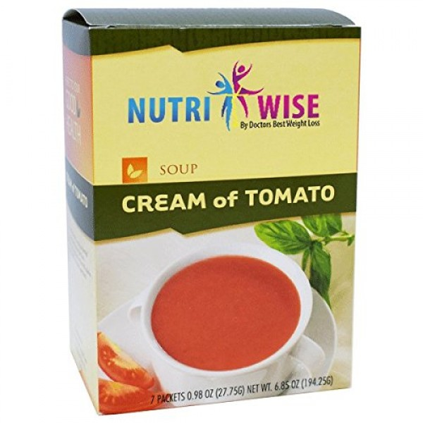 HealthWise Cream of Tomato, 7 packets of .979oz, net 6.853oz