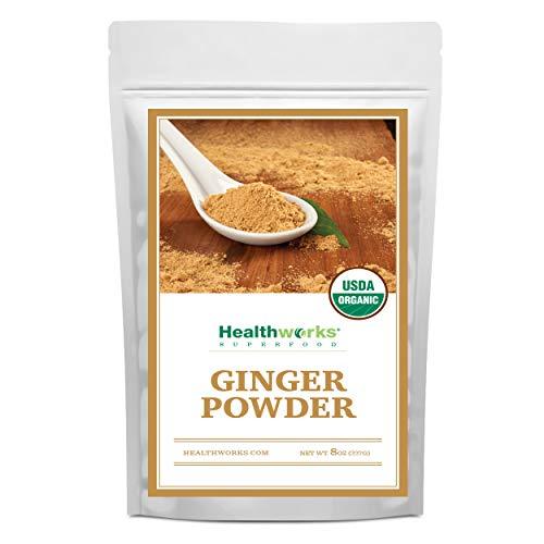 Healthworks Ginger Powder Organic 8 Ounce