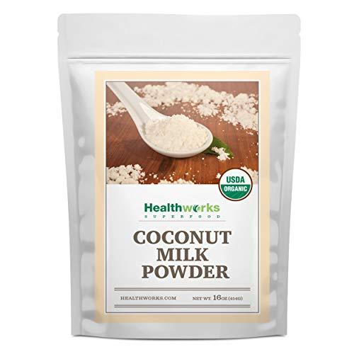 Healthworks Coconut Milk Powder 16 Ounce / 1 Pound | Certified...