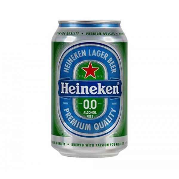 PACK OF 6 Heineken 0.0% Non Alcohol Beer - Great Taste, Zero...
