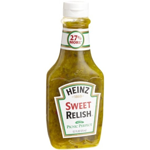 Heinz Sweet Relish Picnic Perfect 12 Fl Oz Pack of 3