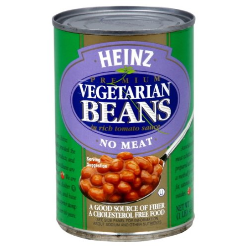 Heinz Vegetarian Bean Tomato Sauce, 16-ounces Pack of12