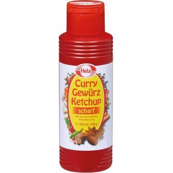 Hela Curry Gewurz Ketchup Scharf Hot Hela Wurzung from Germany 3...