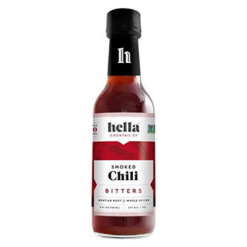 Hella Cocktail Co. | Smoked Chili Bitters, 5 oz | Craft Cocktail...