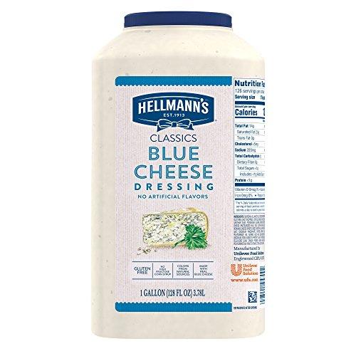 Hellmanns Classics Blue Cheese Salad Dressing Jug Gluten Free, ...