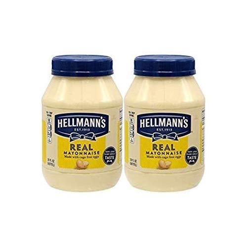 Hellmans Real Mayo Mayonnaise, Made With Cage Free Eggs, 30oz ...