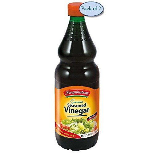 Hengstenberg Seasoned Vinegar, German, 25.4 Ounce Pack of 2