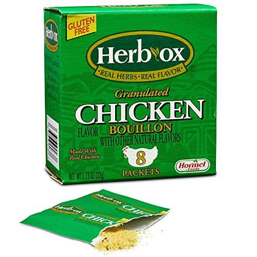 Herb-Ox Granulated Chicken Bouillon Instant Broth & Seasoning 1....