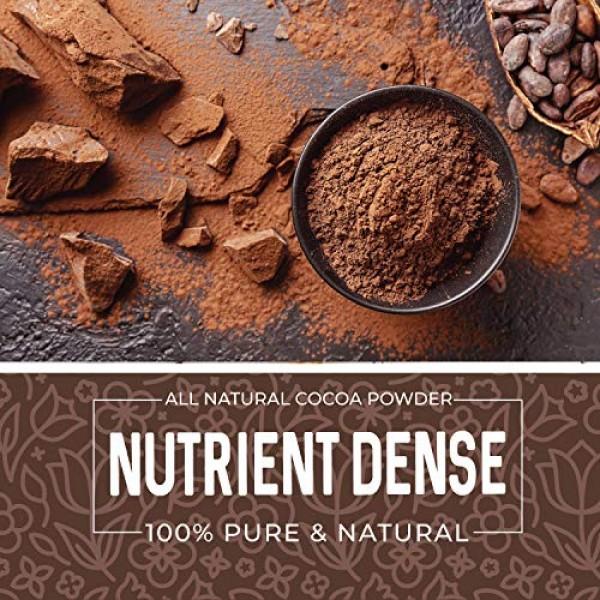 Cocoa Powder 1 lb, Unsweetened, Chocolate Substitute, Raw, Keto,...