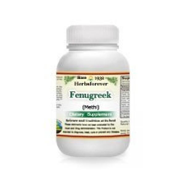 Fenugreek Capsule Trigonella Foenum-Graecum Methi 60 Vege Ca...