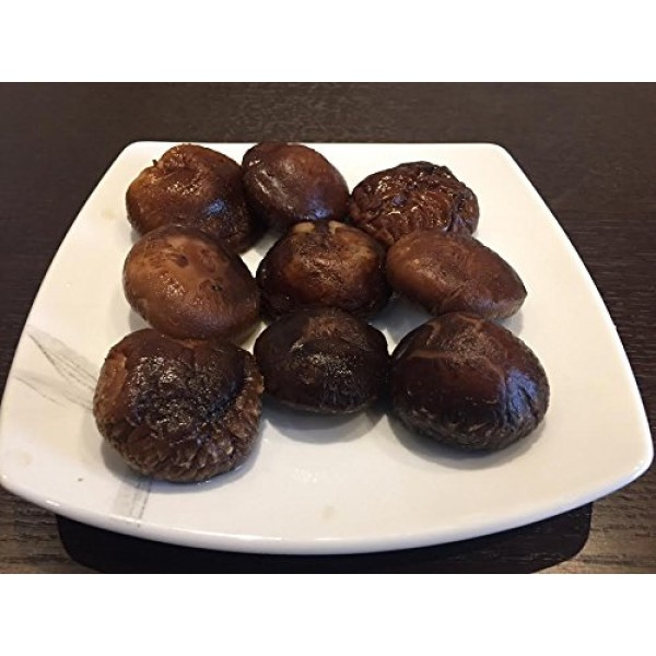 A Grade Dried Shiitake Mushrooms Medium Size 1 LB.