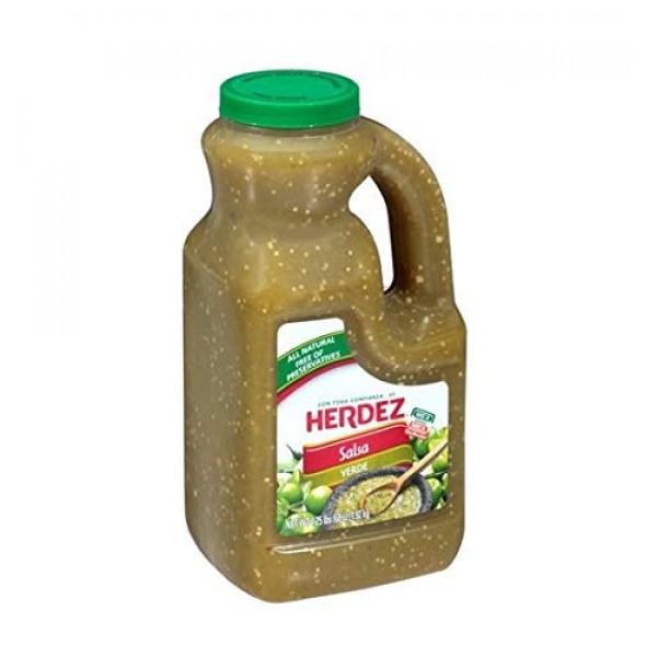 Herdez Salsa Verde - 68 Oz -4.25lb Jug Pack of 2