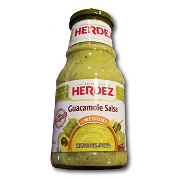 Herdez Guacamole Sales- Mild- 23.6oz