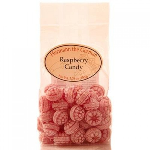 Hermann the German Himbeer Bonbons 150g Raspberry Candy 5.29oz