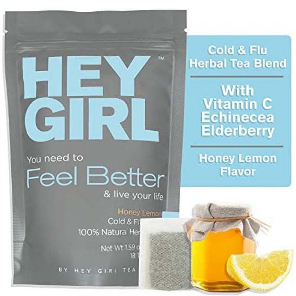Feel Better Herbal Tea - Immune Support, Immune Booster w/Echina...