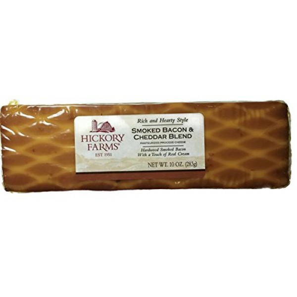 10oz Hickory Farms Smoked Bacon & Cheddar Blend, Pack of 3