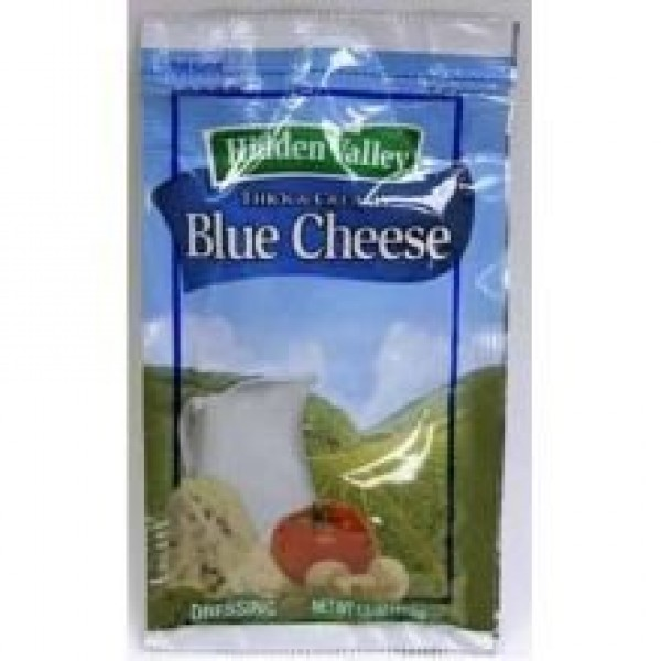 Hidden Valley Blue Cheese Dressing Dry Mix, 3.1 Ounce 18 packets