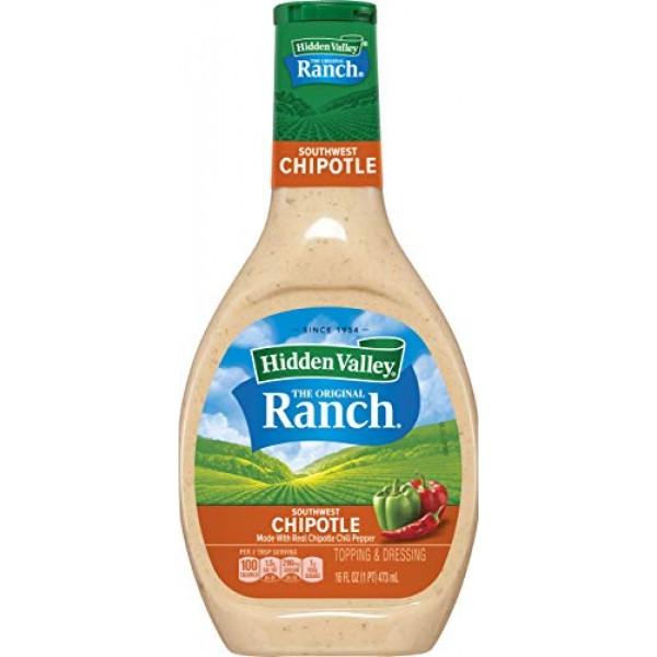 Hidden Valley Farmhouse Originals Southwest Chipotle Salad Dress...