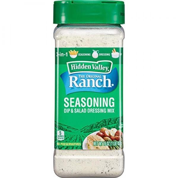 Hidden Valley Original Ranch Ranch Seasoning Mix 16 oz. Canister