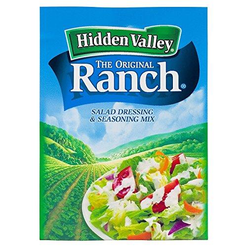 Hidden Valley Original Ranch Salad Dressing & Seasoning Mix, Glu...