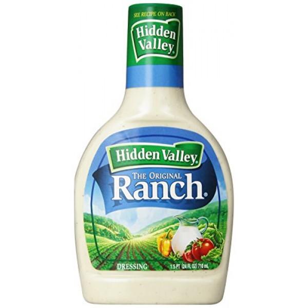 Hidden Valley Original Ranch Salad Dressing & Topping, Gluten Fr...