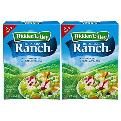 Hidden Valley Original Ranch Seasoning and Salad Dressing Mix, E...