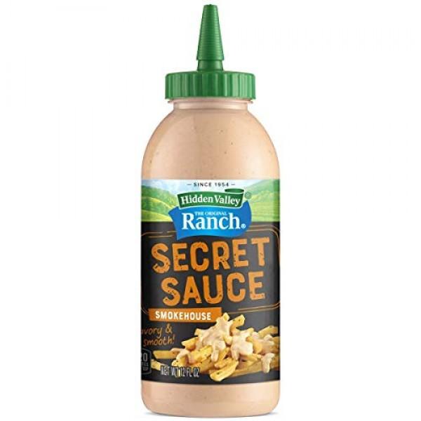 Hidden Valley Ranch 1 Secret Sauce Smokehouse Savory & Smooth ...