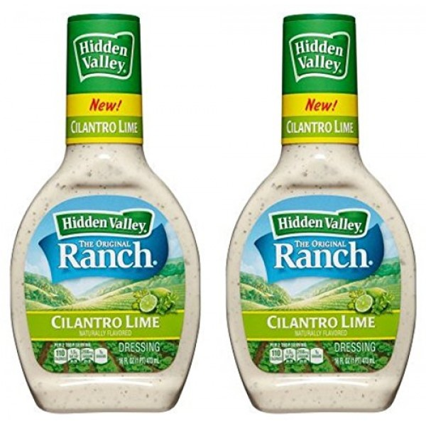 Hidden Valley Ranch Dressing - Cilantro Lime - Naturally Flavore...