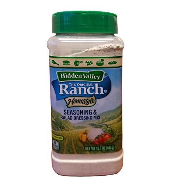 Hidden Valley Ranch Homestyle Seasoning & Salad Dressing Mix Pow...