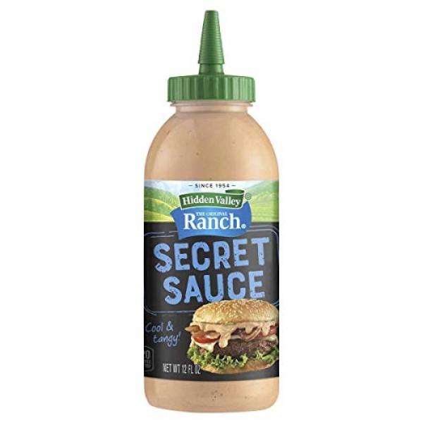 Hidden Valley The Original Ranch Secret Sauce, Original - 12 Oz ...