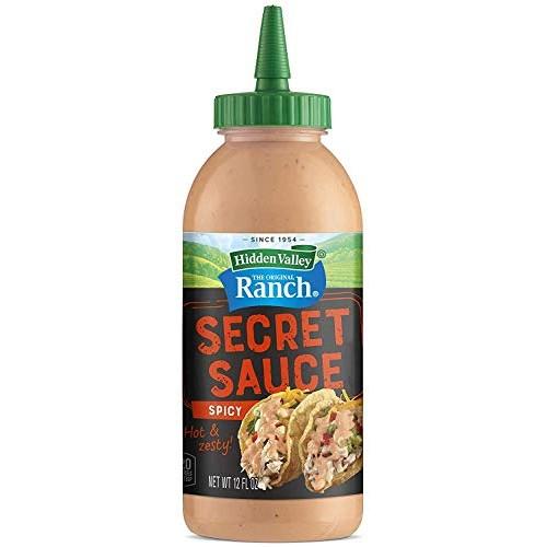 Hidden Valley The Original Ranch Secret Sauce, Spicy 12 Oz Squee...