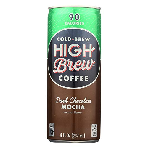 High Brew Coffee Dark Chocolate Mocha Coffee, 8 Fluid Ounce - 12...