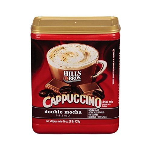 Hills Brothers Double Mocha Cappuccino Drink Mix 2 Pack 16 oz