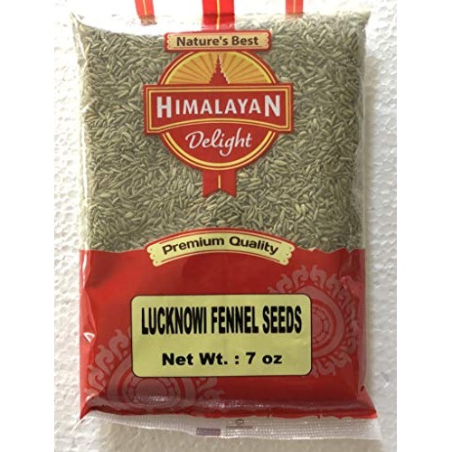 Himalayan Delight Premium Quality Lucknowi Fennel Seeds - 7 Ounc...