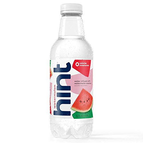 Hint Water Watermelon Pack of 12 16 Ounce Bottles Pure Water I...