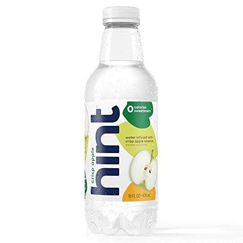 Hint Water Crisp Apple, (Pack of 12) 16 Ounce Bottles, Pure Wate...
