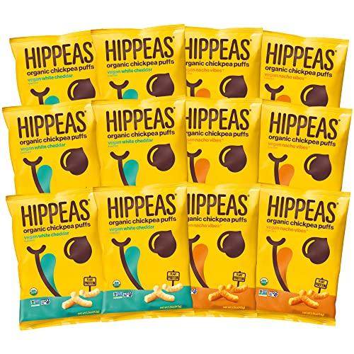 HIPPEAS Organic Chickpea Puffs + Cheeze Variety Pack | 1.5 oun...