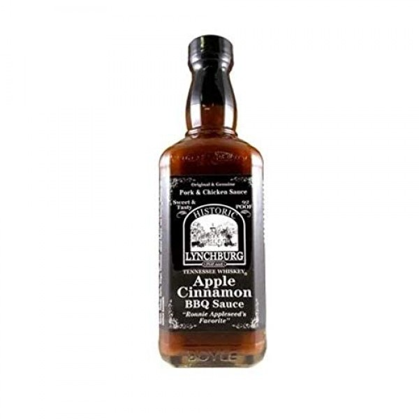 Historic Lynchburg Tennessee Whiskey Apple Cinnamon Barbecue Sauce