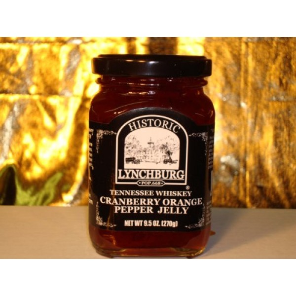 Historic Lynchburg Tennessee Whiskey Cranberry Orange Pepper Jelly