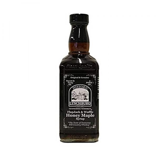 Historic Lynchburg Tennessee Whiskey FlapJack & Waffle Honey Map...