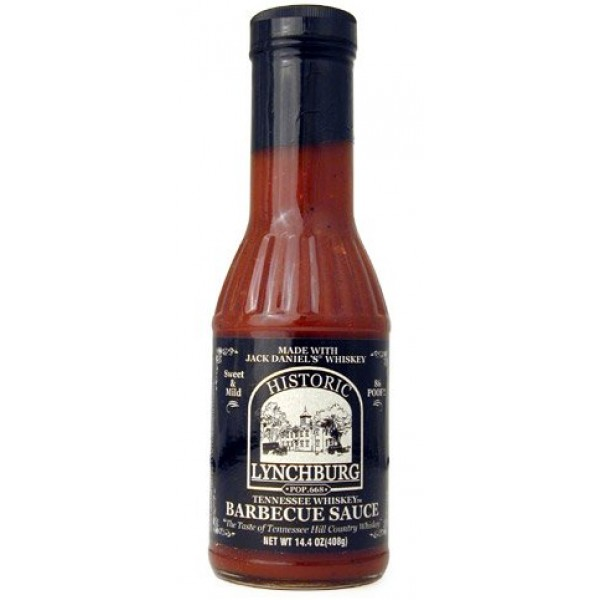Historic Lychburg Tennessee Whiskey Barbecue Sauce 86 POOF! - Sw...