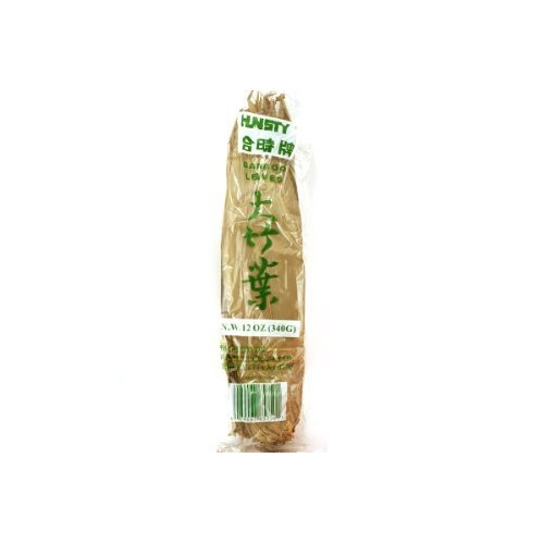 Dried Bamboo Leaves - 12oz Pack of 3