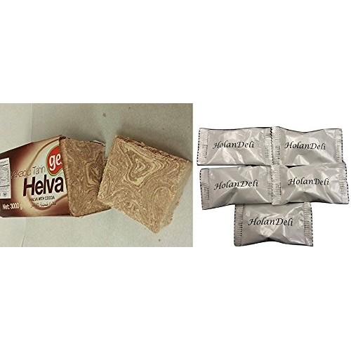 Fresh Marble Chocolate Halva, 1lb loaf