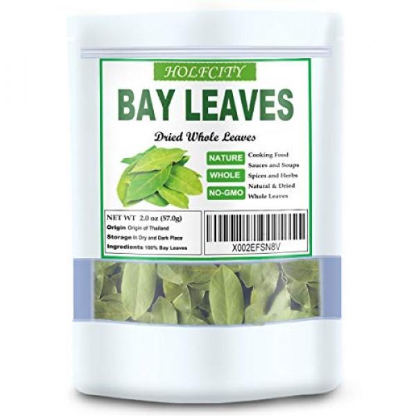 Bay Leaves, 2.0 oz, 100% Pure Dried Bay Leaf, Premium Whole Spice
