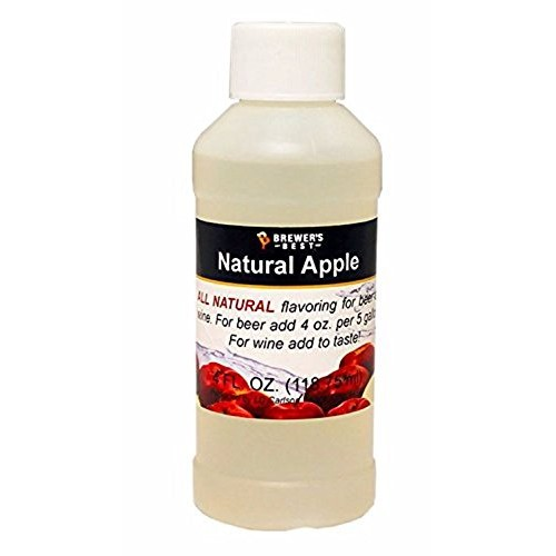 Brewers Best Apple Natural Beer and Wine Fruit Flavoring