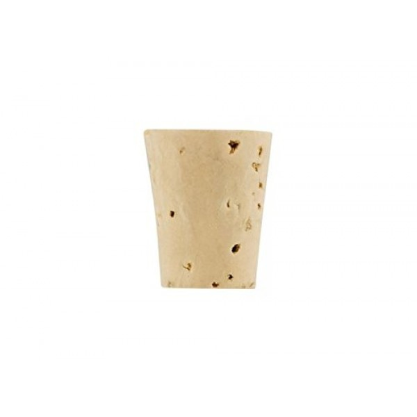Tapered Cork #7 Fits 375/750 mL Bottles