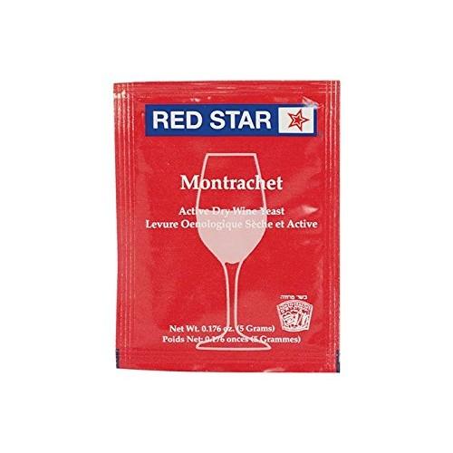 Dry Wine Yeast - Montrachet 5 g Pack of 10